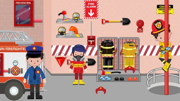模擬消防員游戲