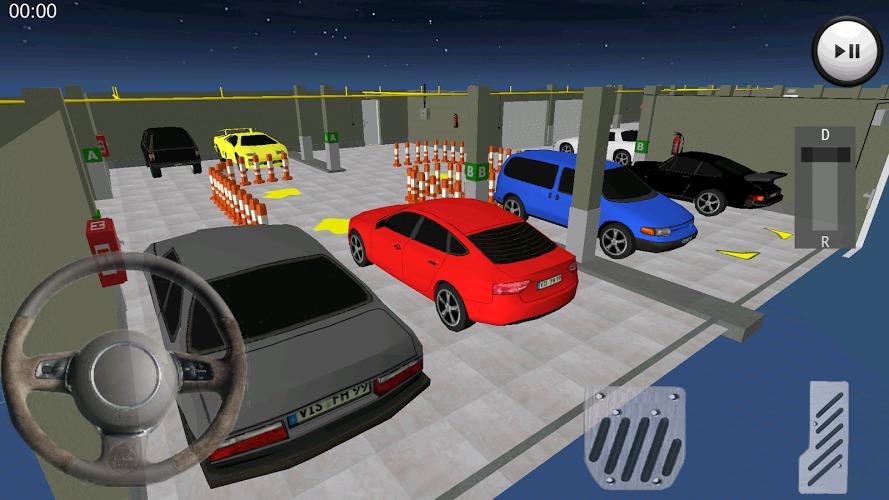 模擬停車的游戲